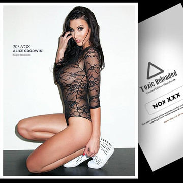 Alice Goodwin [ ID: 203-VOX ] Toxic Reloaded 8.5 x 11  Numbered / Plastified