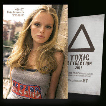 Kate Bosworth / Simply Beautiful [ # 466-ET ] TOXIC ATTRACTION cards