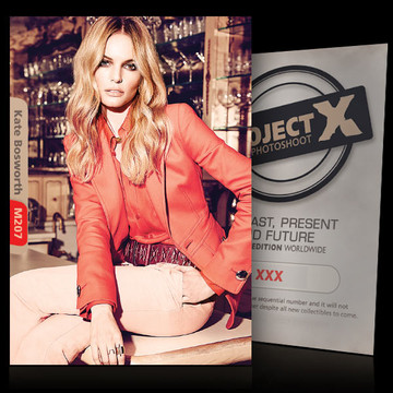 Kate Bosworth / on the bar [ ID: M207 #XX ] PROJECT X LIMITED EDITION CARDS