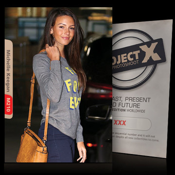 Michelle Keegan / simply beautiful [ ID: M210 #XX ] PROJECT X LIMITED EDITION CARDS