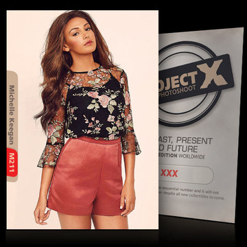 Michelle Keegan / simply beautiful Vol.2 [ ID: M211 #XX ] PROJECT X LIMITED EDITION CARDS
