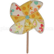 Pinwheel Applique