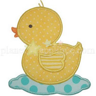 Rubber Ducky Applique