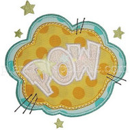 Pow Applique
