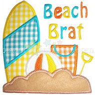 Beach Brat Applique