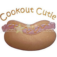Cookout Cutie Applique