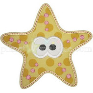 Cute Starfish Applique
