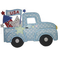 July 4th Truck Applique