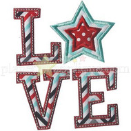 Patriot Love Applique