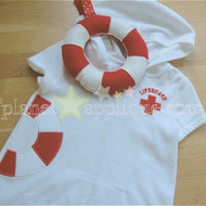 Lil Lifeguard Applique Set