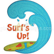 Surfs Up 2 Applique