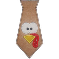 Turkey Tie Applique