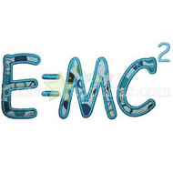 E=MC2 Applique