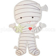 Cute Mummy Applique