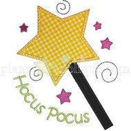 Magic Wand Applique