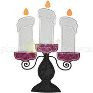 Candlestick Applique