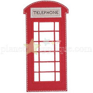 Telephone Booth Applique