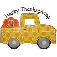 Turkey Truck Applique