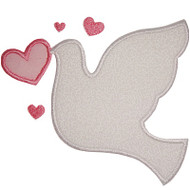 Love Dove Applique