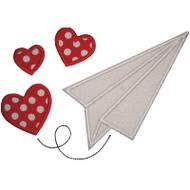 Paper Airplane Valentine