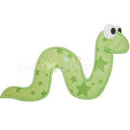 Worm Applique