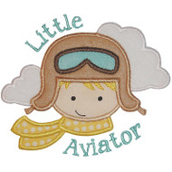 Little Aviator Applique