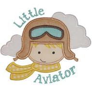 Little Aviator Applique