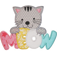 Meow Applique