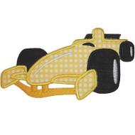 F1 Racer Applique