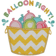 Balloon Fight Applique