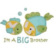 Sibling Fish Applique