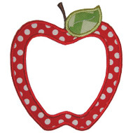 Whimsical Apple Applique