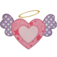 Angel Heart Applique