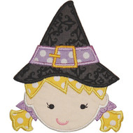 Witch 3 Applique
