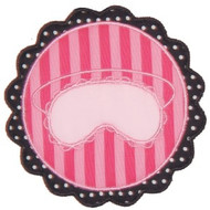Paris Pretties Sleep Mask Applique