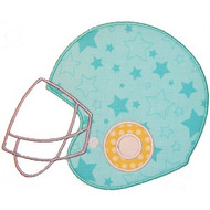 Football Helmet Applique