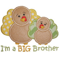 Sibling Turkey Applique