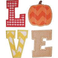 Pumpkin Love Applique