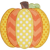 Pieced Pumpkin Applique