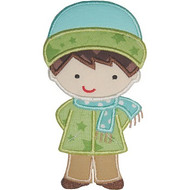 Winterland Boy Applique