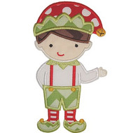 Elf Boy 2 Applique