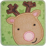Reindeer Patch Applique