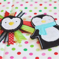 Penguin Feltie Set
