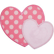 2 Hearts Applique