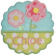 Flower Name Plate