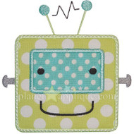 Robot Boy Applique