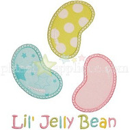 Lil Jelly Bean Applique