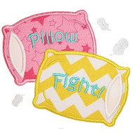 Pillow Fight Applique