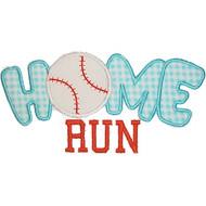 Home Run applique