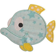 Tropical Fish Applique